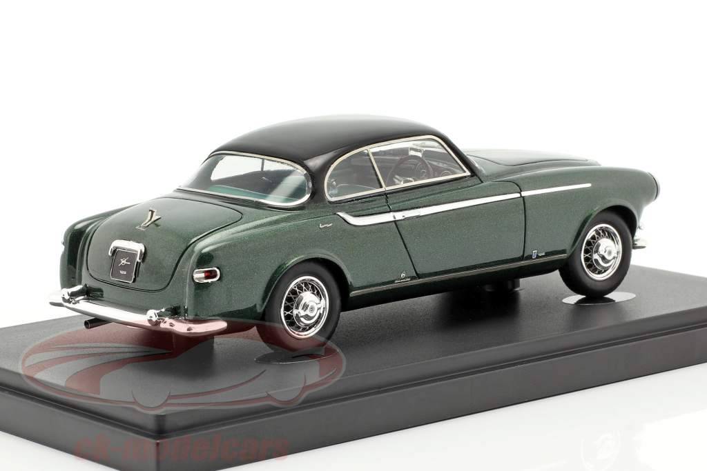 Lancia Aurelia B52 Coupe Vignale Bouwjaar 1952 donkergroen / zwart 1:43 AutoCult