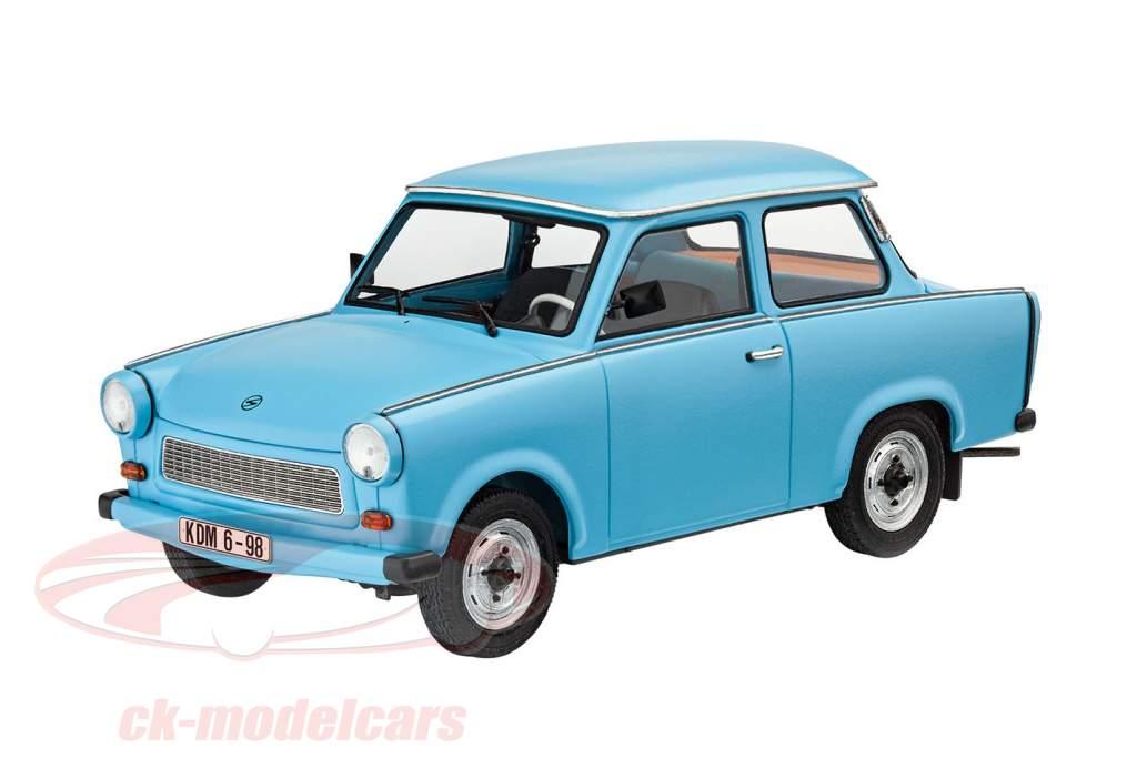 Trabant 601S estojo azul claro 1:24 Revell