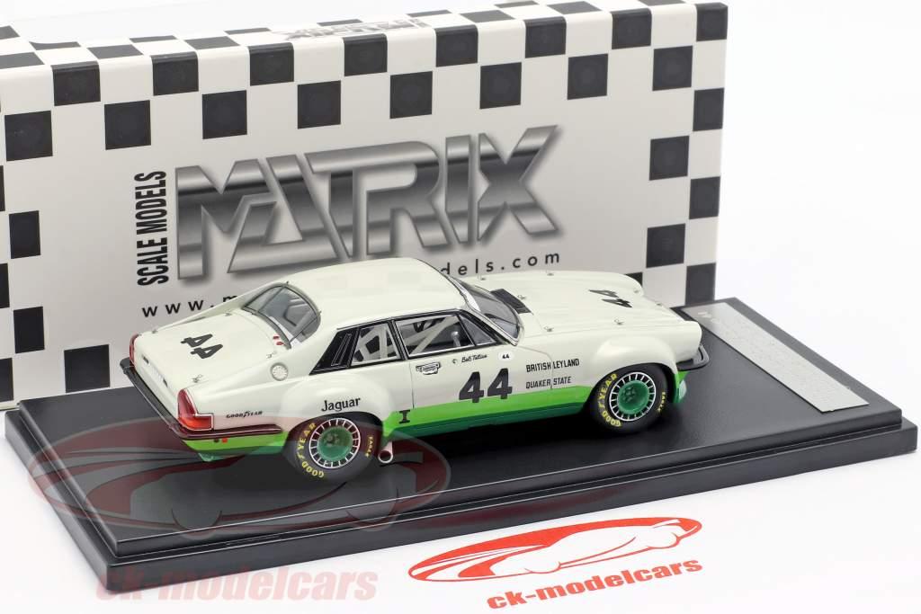 Jaguar XJ-S Coupe #44 vencedor Trans Am Series 1978 Bob Tullius 1:43 Matrix