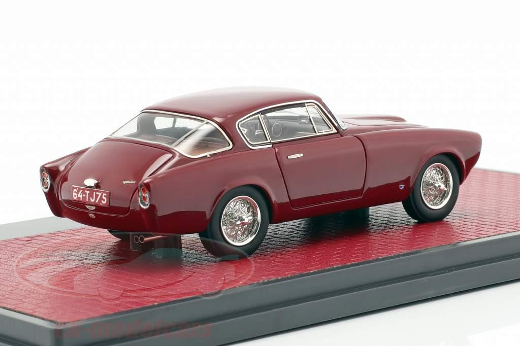 Aston Martin DB 2/4 Allemano Coupe Opførselsår 1953 mørk rød 1:43 Matrix
