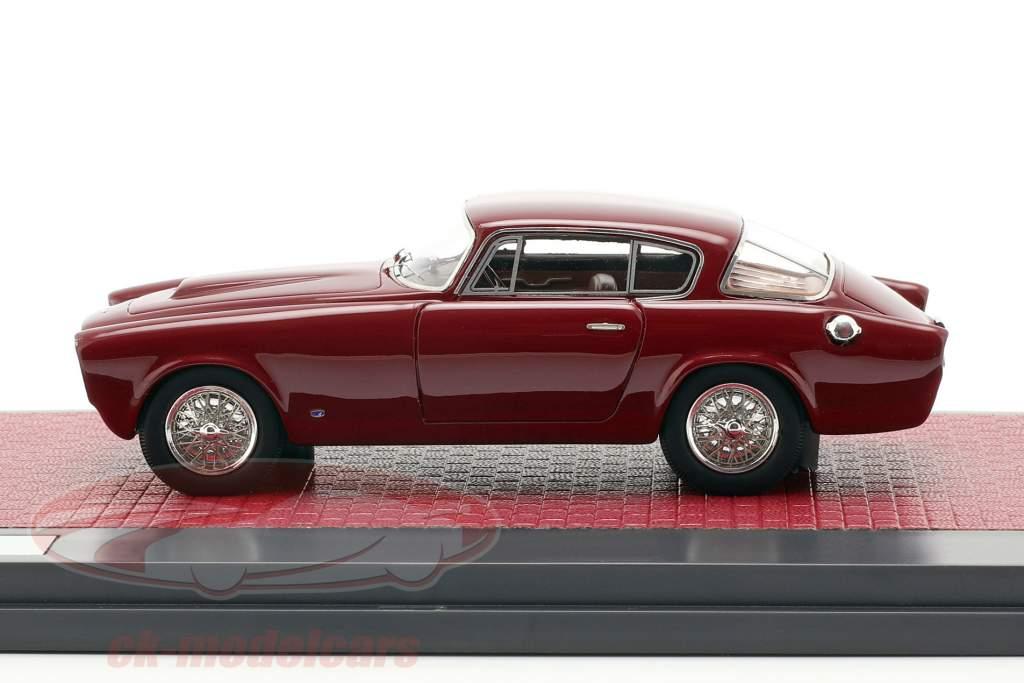 Aston Martin DB 2/4 Allemano Coupe Baujahr 1953 dunkelrot 1:43 Matrix