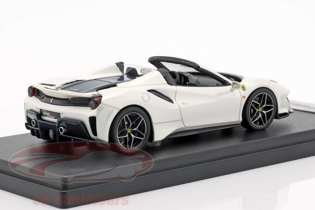 Ferrari 488 Pista Spider Opførselsår 2018 italia hvid 1:43 LookSmart