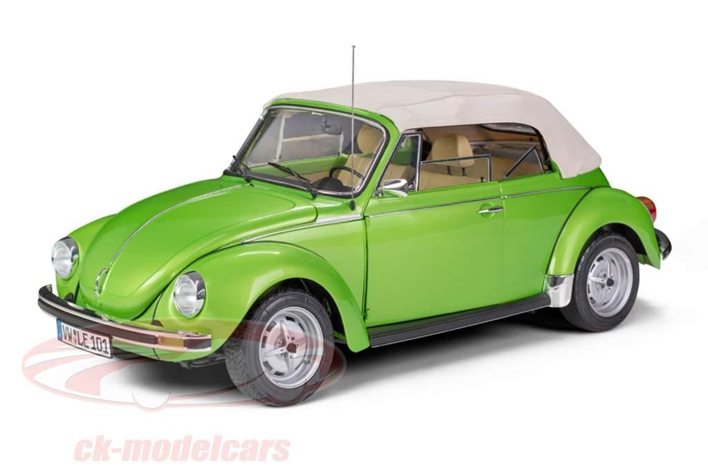 Volkswagen VW coléoptère 1303 cabriolet année de construction 1976 trousse vipère vert 1:8 LeGrand