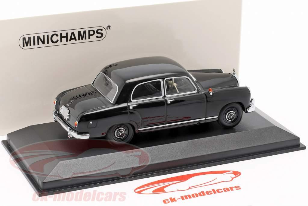 Mercedes-Benz 180 (W120) anno di costruzione 1955 nero 1:43 Minichamps