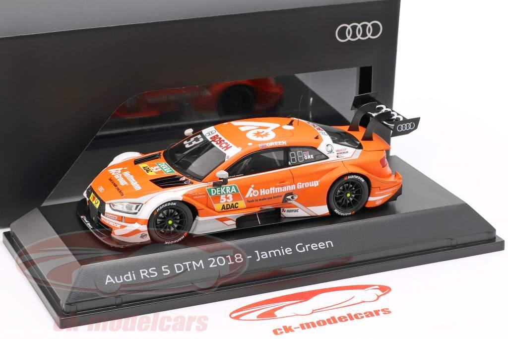 Audi RS 5 DTM #53 DTM 2018 Jamie Green 1:43 Spark