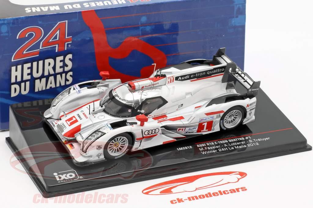 Audi R18 e-tron quattro #1 Winner 24h LeMans 2012 Audi Sport Team Joest 1:43 Ixo