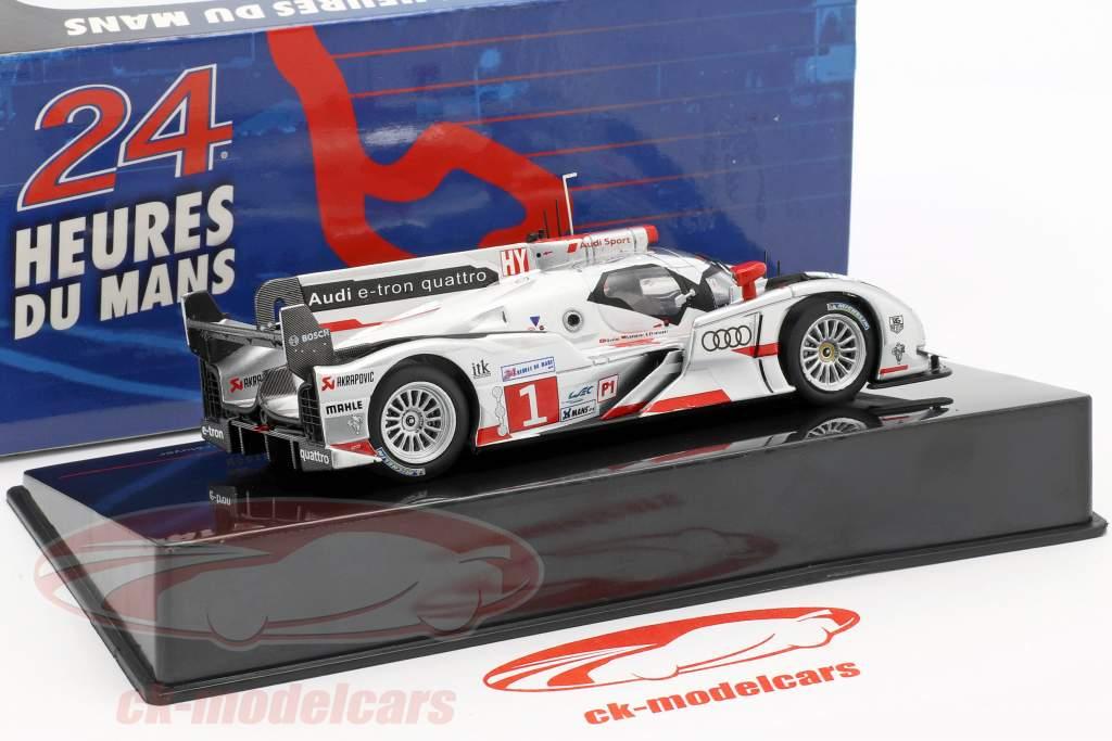 Audi R18 e-tron quattro #1 vincitore 24h LeMans 2012 Audi Sport Team Joest 1:43 Ixo