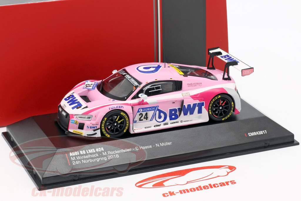 Audi R8 LMS #24 24h Nürburgring 2018 Audi Sport Team BWT 1:43 CMR