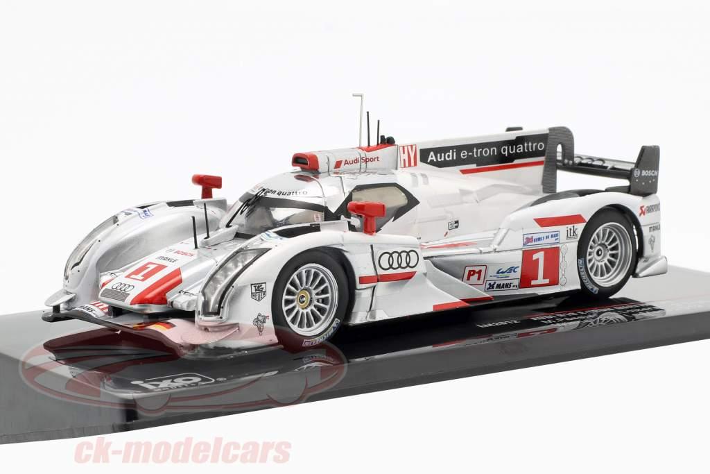 Audi R18 e-tron quattro #1 Vinder 24h LeMans 2012 Audi Sport Team Joest 1:43 Ixo