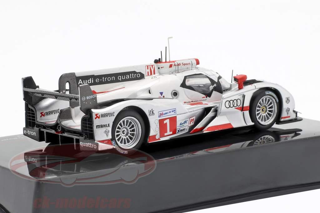 Audi R18 e-tron quattro #1 gagnant 24h LeMans 2012 Audi Sport Team Joest 1:43 Ixo
