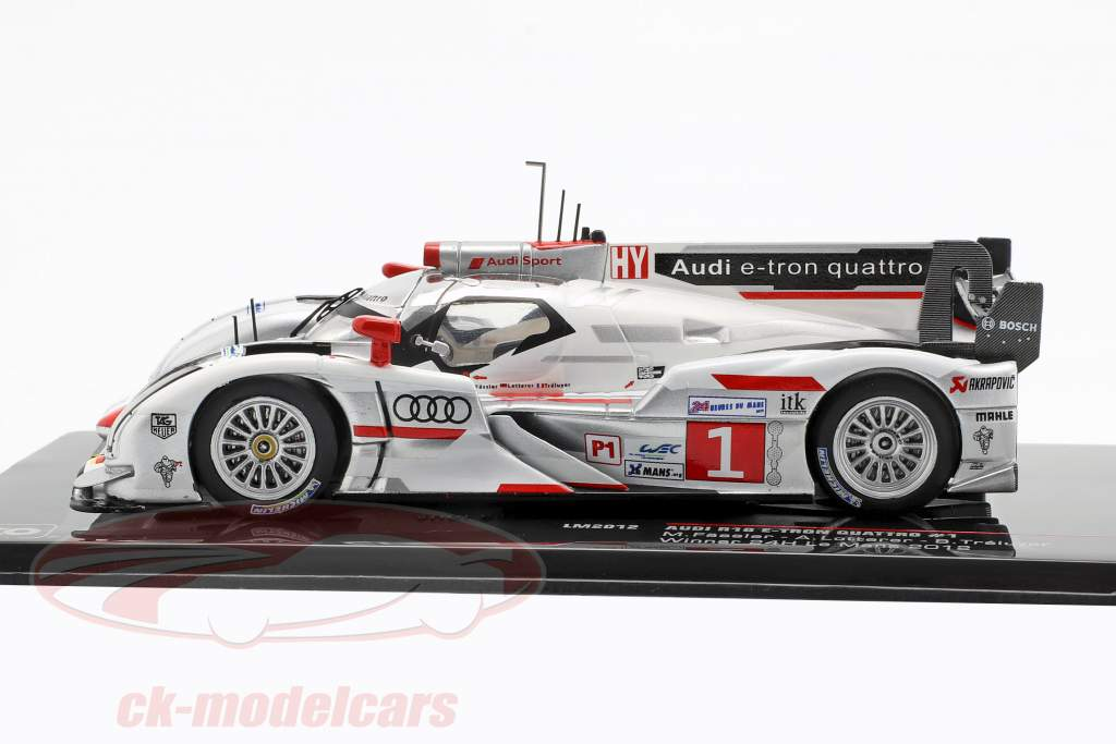Audi R18 e-tron quattro #1 ganador 24h LeMans 2012 Audi Sport Team Joest 1:43 Ixo