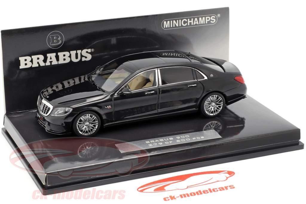 Maybach Brabus 900 basado en Mercedes-Benz Maybach S600 2016 negro 1:43 Minichamps