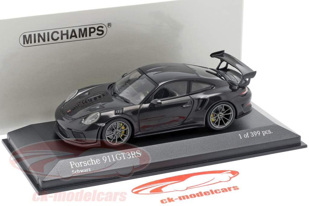 Porsche 911 (991 II) GT3 RS Baujahr 2018 schwarz 1:43 Minichamps