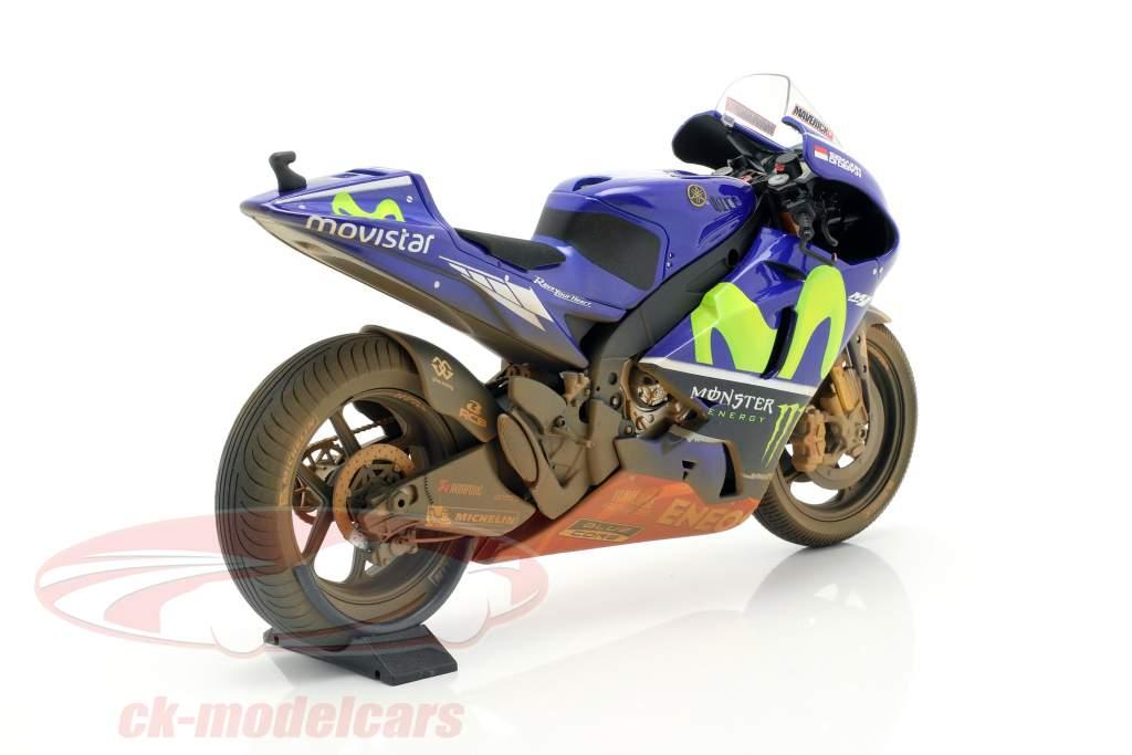 M. Vinales Yamaha YZR-M1 Dirty Version #25 MotoGP Malaisie 2017 1:12 Minichamps