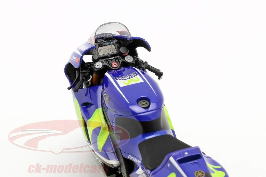 M. Vinales Yamaha YZR-M1 Dirty Version #25 MotoGP Malásia 2017 1:12 Minichamps
