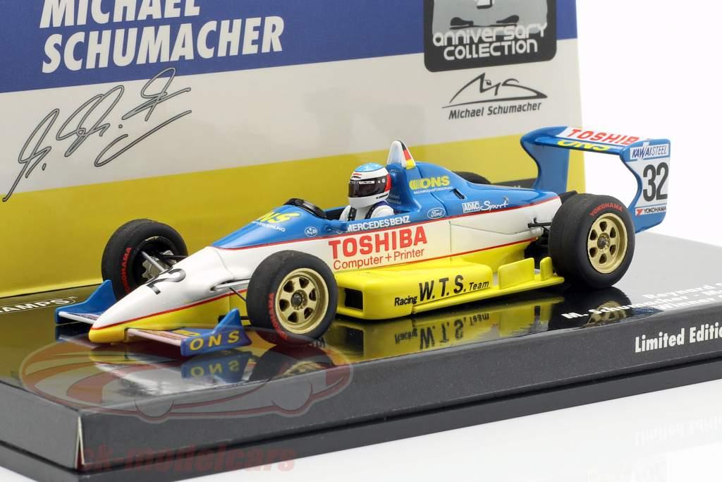 M. Schumacher Reynard 893 #32 Vinder Qualifying Macau GP 1989 1:43 Minichamps