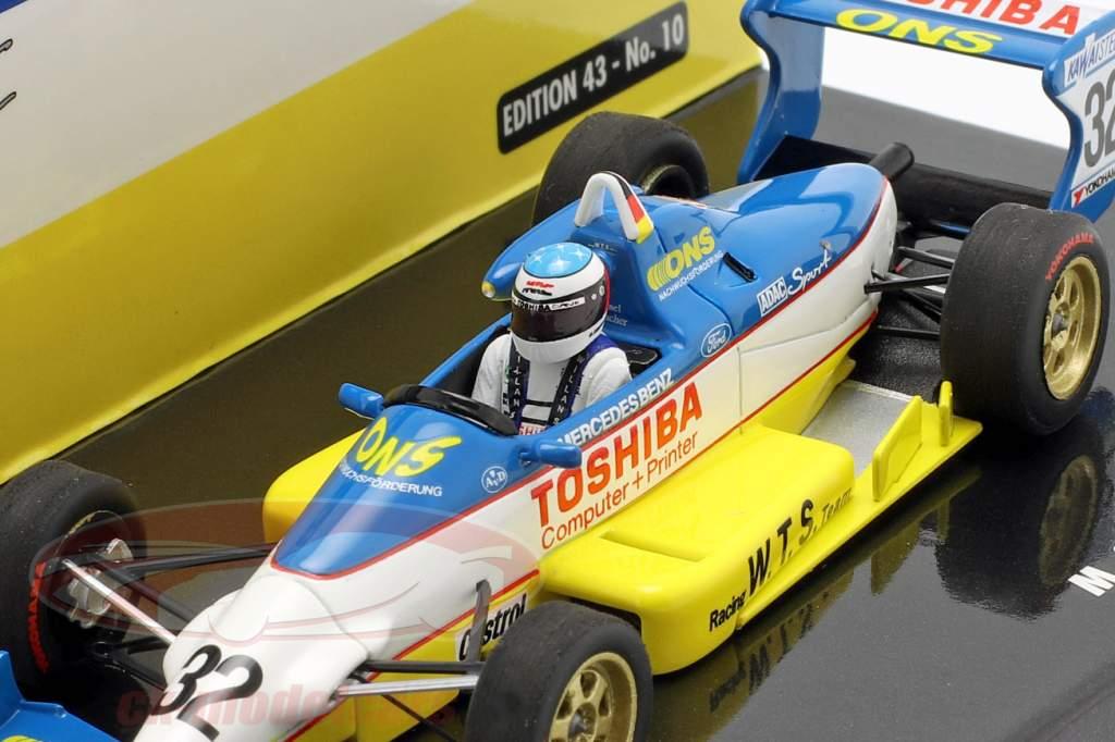 M. Schumacher Reynard 893 #32 vincitore qualificazione Macau GP 1989 1:43 Minichamps