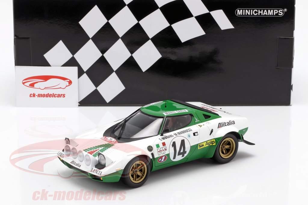 Lancia Stratos HF #14 vencedor Rallye Monte Carlo 1975 1:18 Minichamps