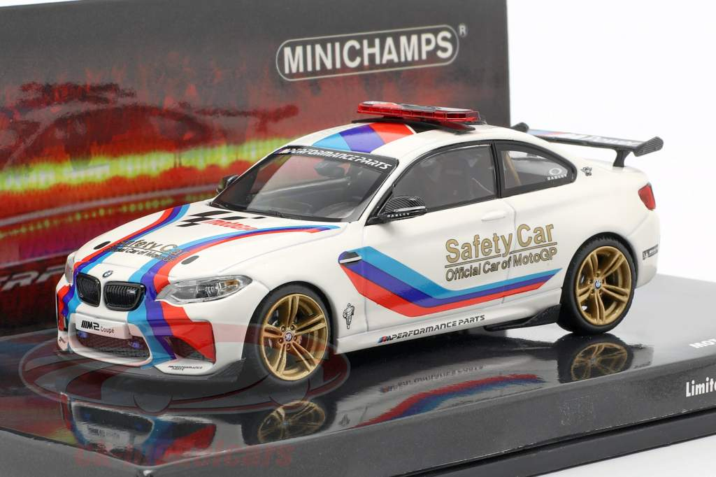 BMW M2 MotoGP Safety Car 2016 blanco 1:43 Minichamps