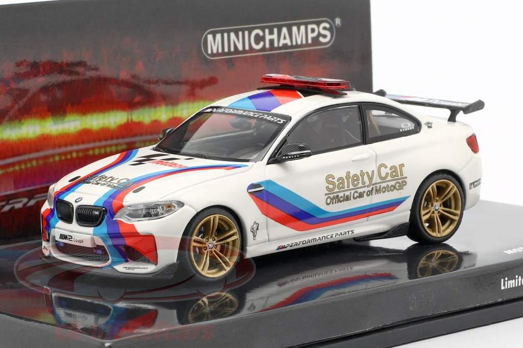 MOTOGP SAFETY CAR BMW M2 2016 1//43 Minichamps 436026100