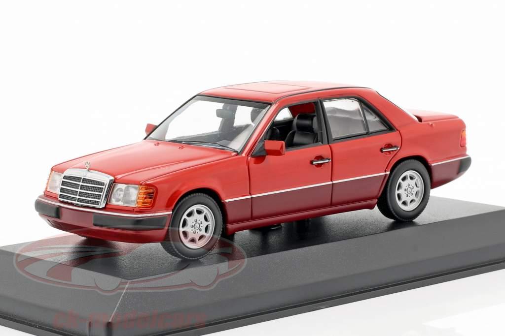Mercedes-Benz 230E (W124) anno di costruzione 1991 rosso 1:43 Minichamps