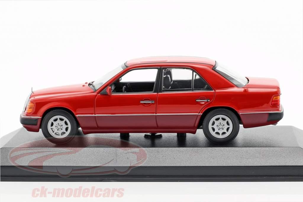 Mercedes-Benz 230E (W124) année de construction 1991 rouge 1:43 Minichamps