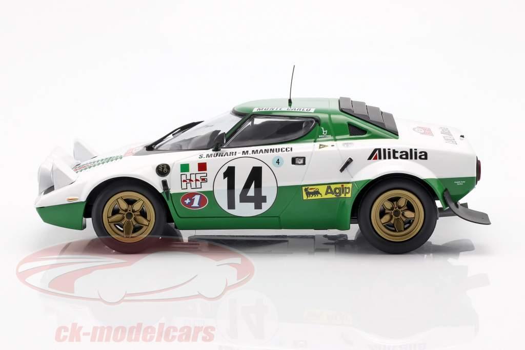 Lancia Stratos HF #14 gagnant Rallye Monte Carlo 1975 1:18 Minichamps