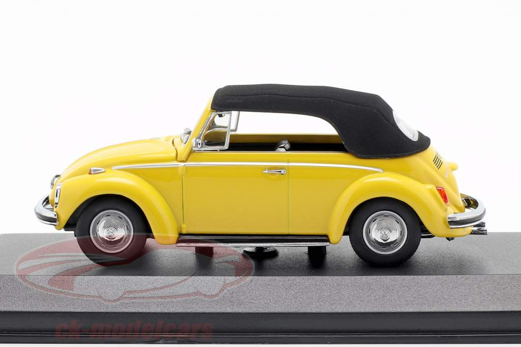 Volkswagen VW 1302 Cabriolet Baujahr 1970 gelb 1:43 Minichamps