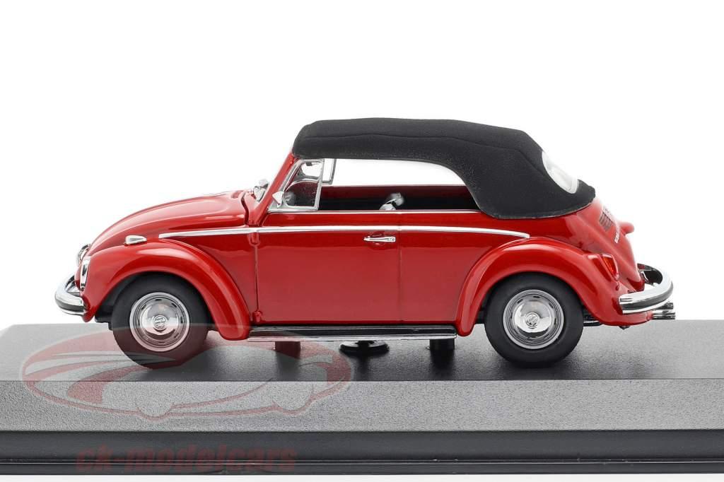 Volkswagen VW 1302 cabriolet année de construction 1970 rouge 1:43 Minichamps
