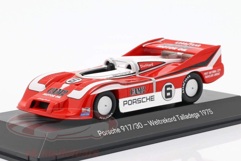 Porsche 917/30 #6 Record du monde Talladega 1975 Mark Donohue 1:43 Spark
