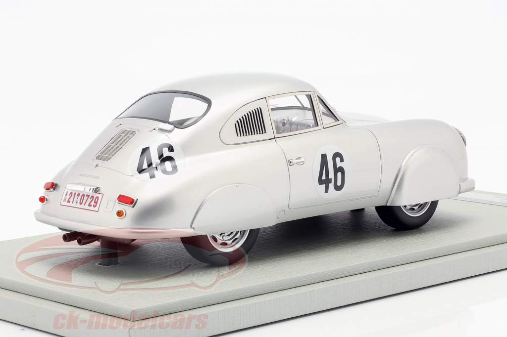 Porsche 356 SL #46 Ganador de clase 24 h LeMans 1951 Veuillet, Mouche 1:18 Tecnomodel