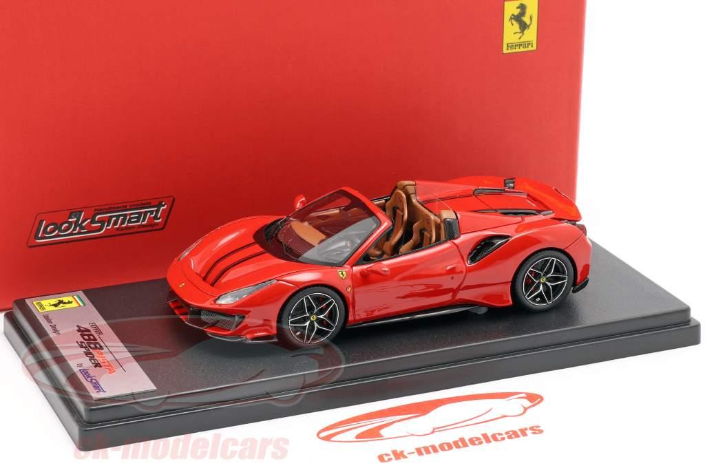 Ferrari 488 Pista Spider year 2018 corsa red 1:43 LookSmart