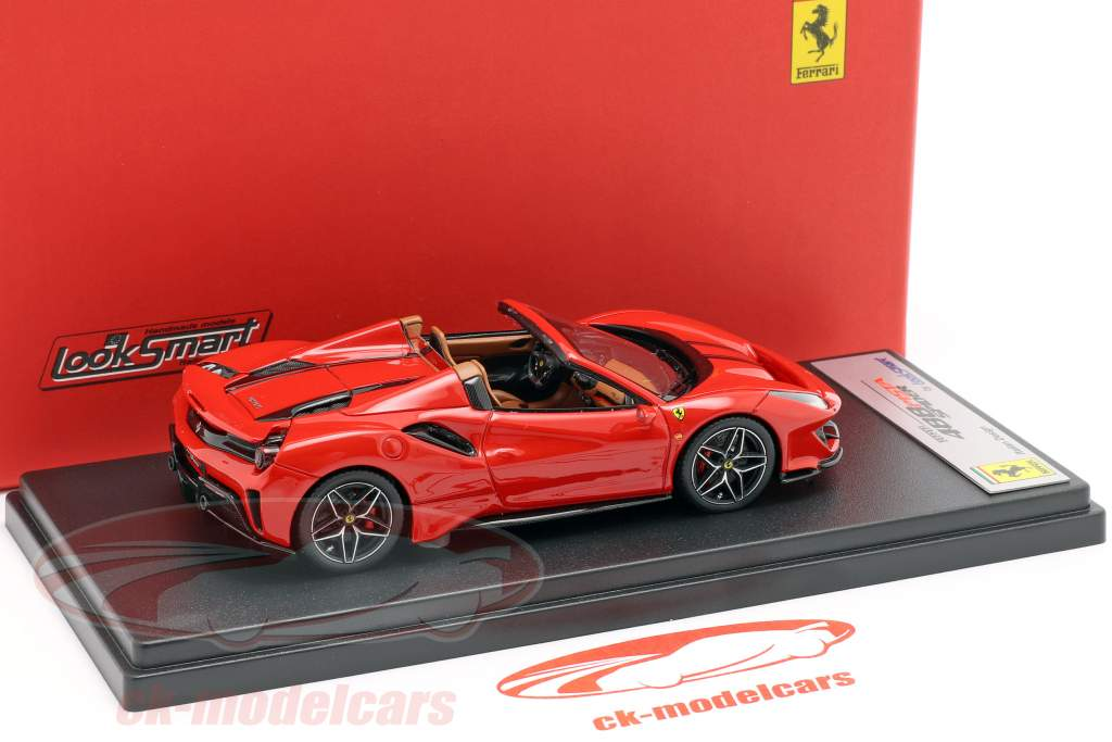 Ferrari 488 Pista Spider année de construction 2018 corsa rouge 1:43 LookSmart