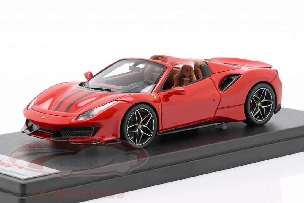 Ferrari 488 Pista Spider Bouwjaar 2018 corsa rood 1:43 LookSmart