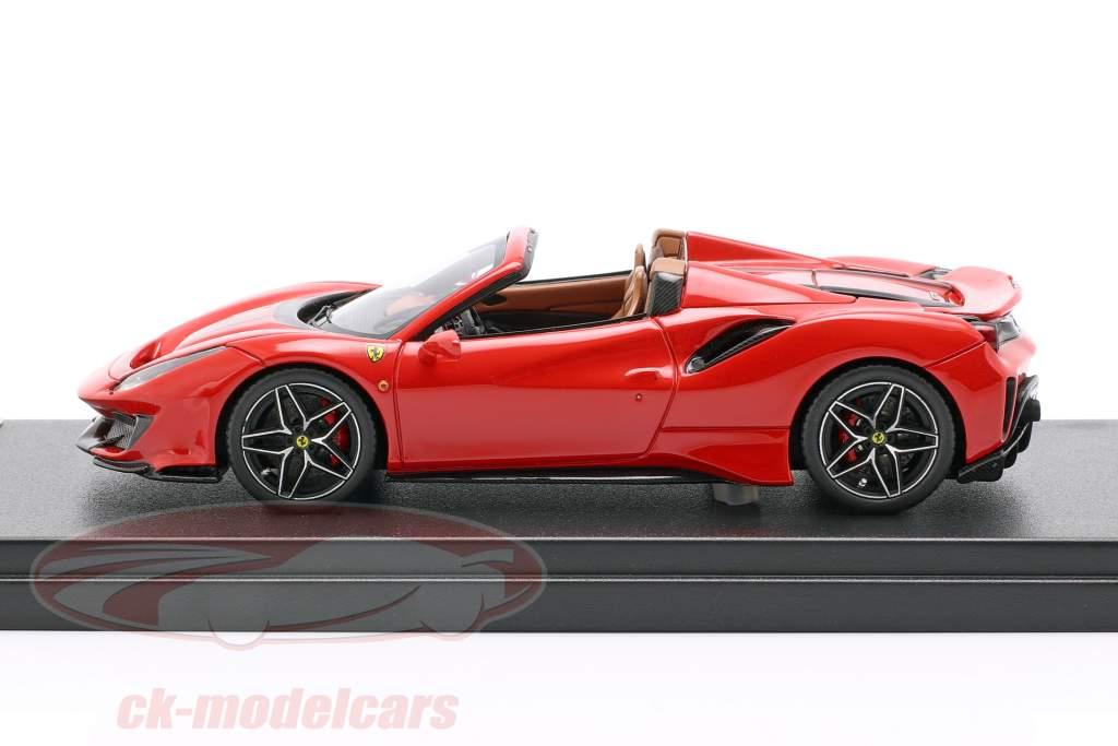 Ferrari 488 Pista Spider ano de construção 2018 corsa vermelho 1:43 LookSmart