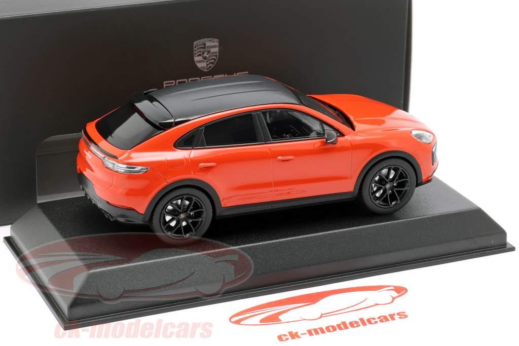 Porsche Cayenne S coupe anno di costruzione 2019 arancione 1:43 Norev