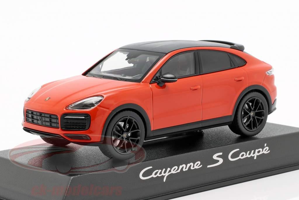 Porsche Cayenne S Coupe Baujahr 2019 orange 1:43 Norev