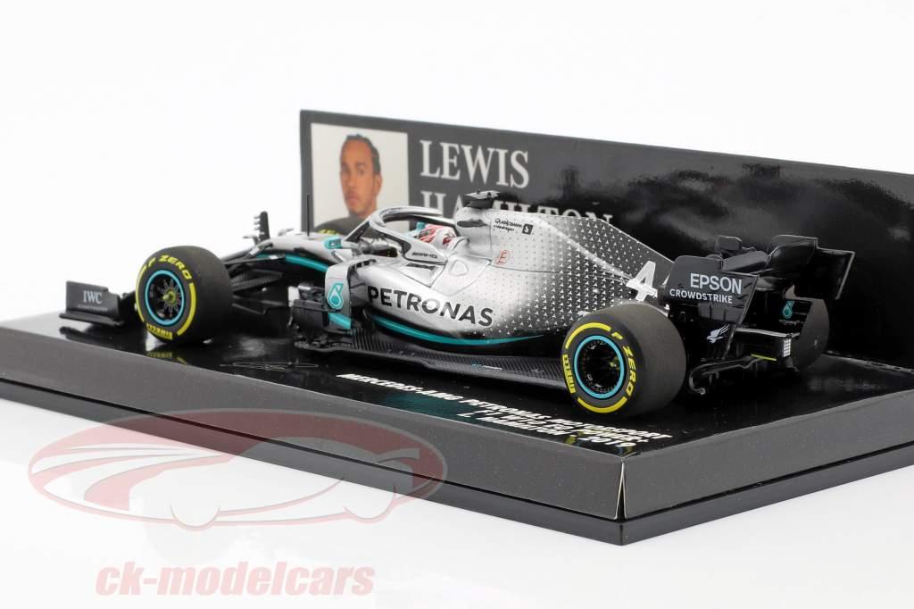 Lewis Hamilton Mercedes-AMG F1 W10 EQ Power  #44 Formel 1 2019 1:43 Minichamps