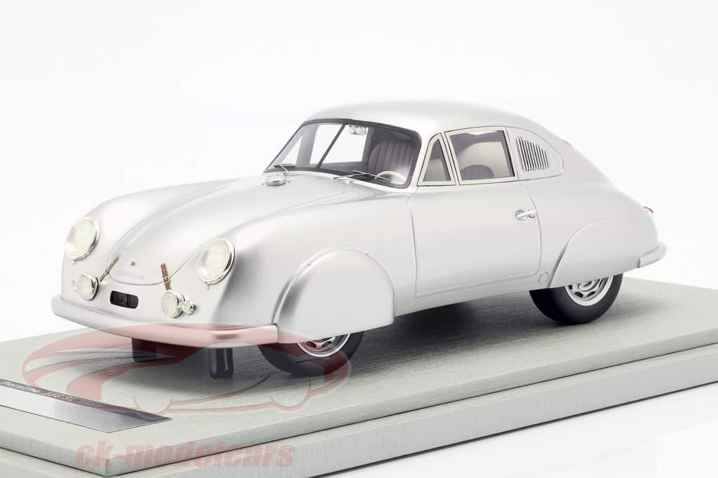 Porsche 356 SL Street Version anno di costruzione 1951 argento 1:18 Tecnomodel
