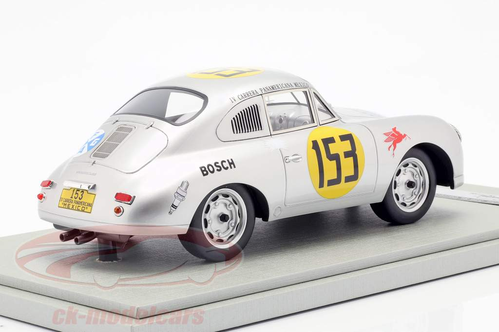 Porsche 356 SL #153 Carrera Panamericana 1953 Contreras, Alfonso 1:18 Tecnomodel