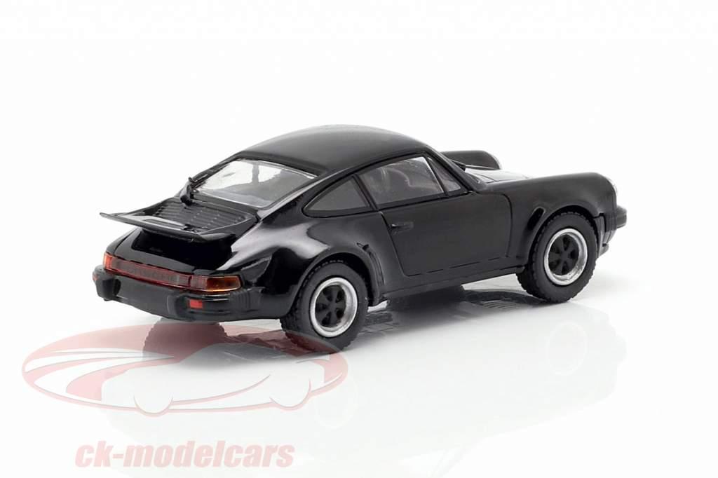 Porsche 911 Turbo (930) Opførselsår 1977 sort 1:87 Minichamps