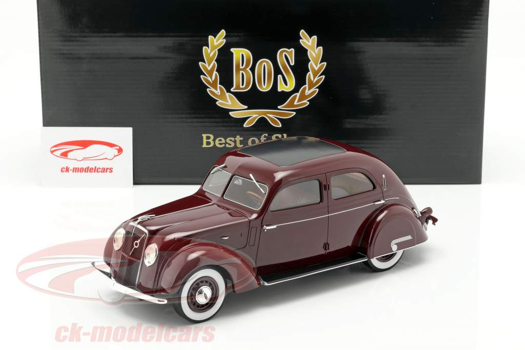 Volvo PV36 Carioca year 1935 dark red 1:18 BoS-Models
