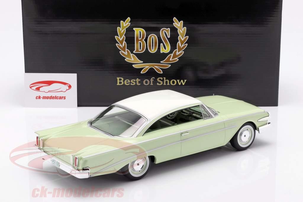 Edsel Ranger Hardtop année de construction 1960 chaux / blanc 1:18 BoS-Models