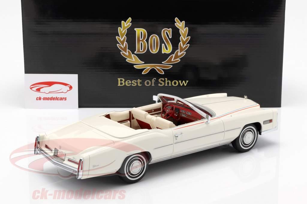 Cadillac Eldorado Convertible Bicentennial ano de construção 1976 branco 1:18 BoS-Models
