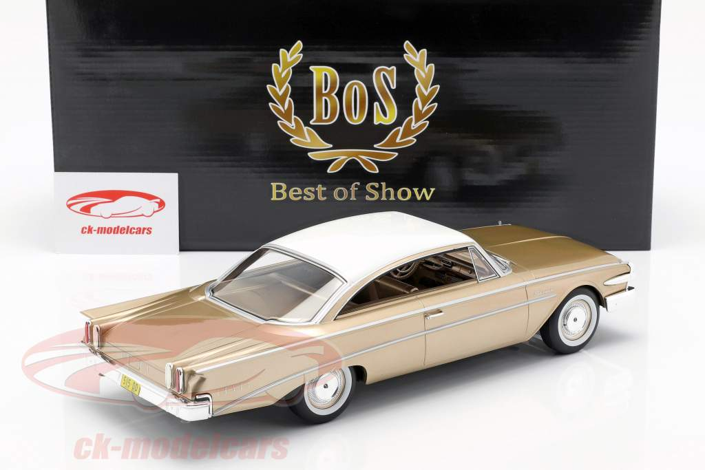 Edsel Ranger Hardtop Opførselsår 1960 guld / hvid 1:18 BoS-Models