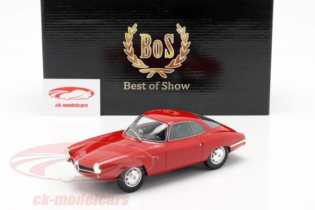 Alfa Romeo Giulietta SS anno di costruzione 1961 rosso 1:18 BoS-Models