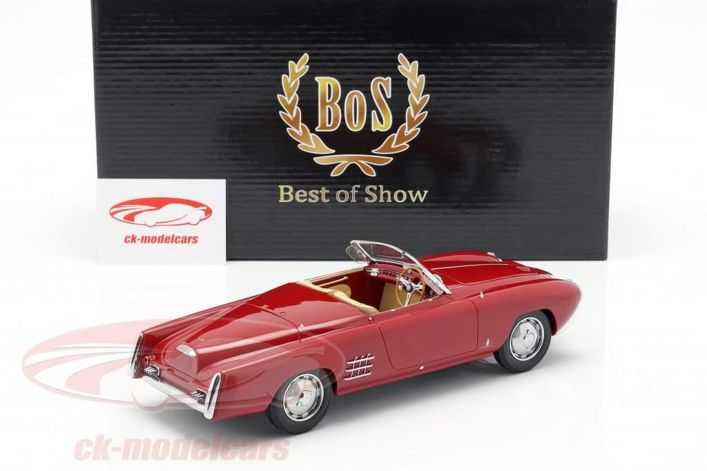 Lancia Aurelia PF 200 C Spider année de construction 1953 rouge 1:18 BoS-Models