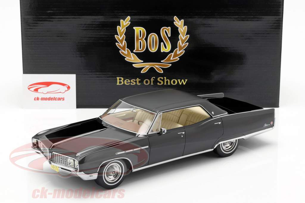 Buick Electra 224 4 Door Coupe year 1968 black 1:18 BoS-Models