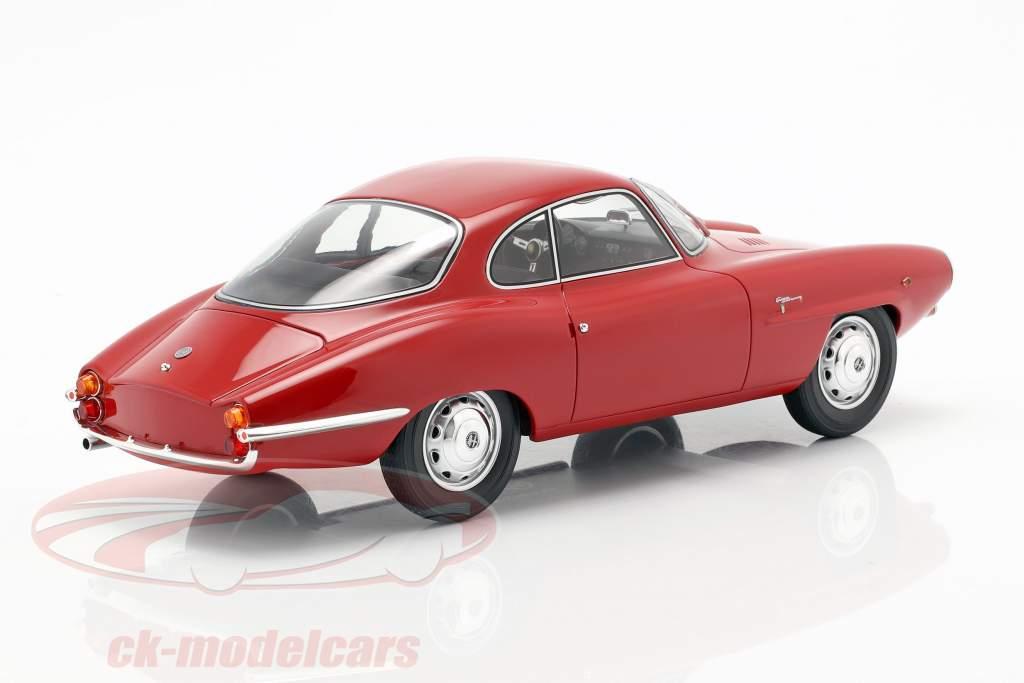 Alfa Romeo Giulietta SS ano de construção 1961 vermelho 1:18 BoS-Models