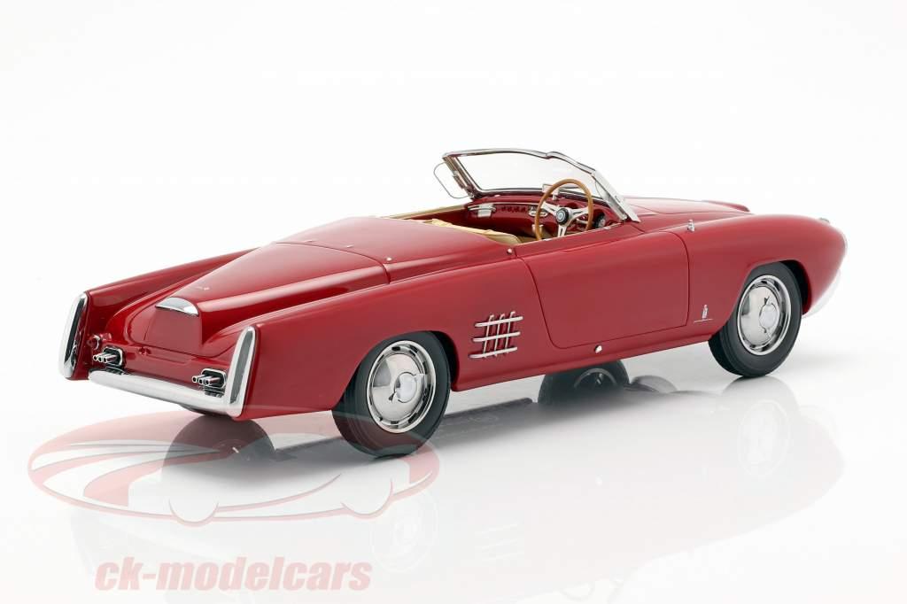Lancia Aurelia PF 200 C Spider Bouwjaar 1953 rood 1:18 BoS-Models
